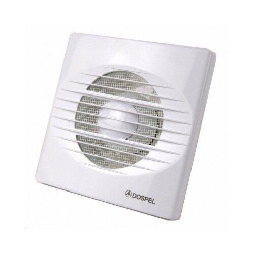 Вентилятор RICO 100 WC DOSPEL с таймером белый Ø100