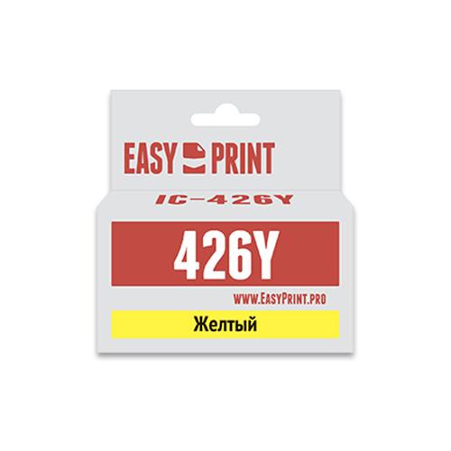 Фото - Картридж EasyPrint IC-CLI426Y, совместимый картридж easyprint ic pgi450bk xl совместимый