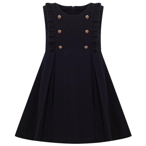 Купить Платье Lapin House размер 134, синий, Платья и сарафаны