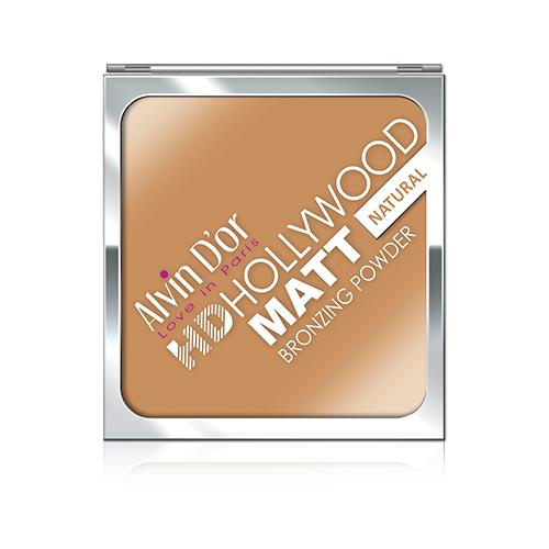Alvin Dor Бронзирующая пудра HD Hollywood Matt Bronzing Powder 01 natural