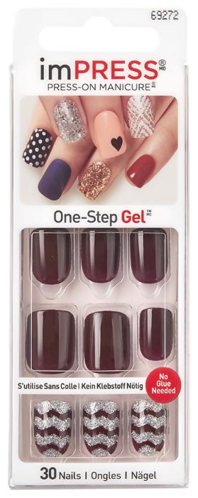 Накладные ногти imPress Press-on Manicure BIPA016 короткие
