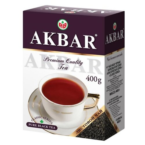 Чай черный Akbar Premium листовой, 400 г