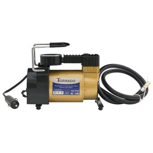 Автомобильный компрессор Tornado АС 580 золотистый/черный