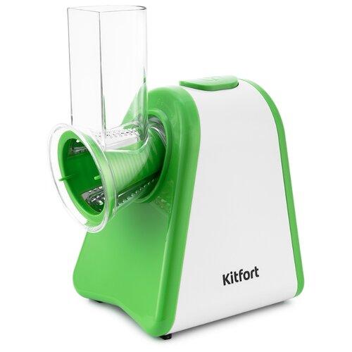 Измельчитель Kitfort КТ-1385 зеленый/белый