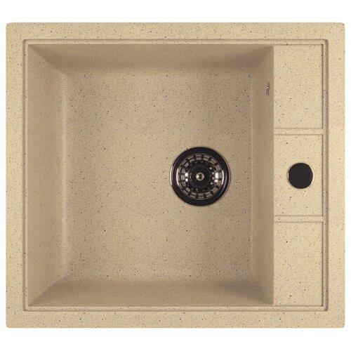 Врезная кухонная мойка 50 см Mixline ML-GM28 бежевая 328 врезная кухонная мойка 42 см mixline ml gm14 бежевая 328