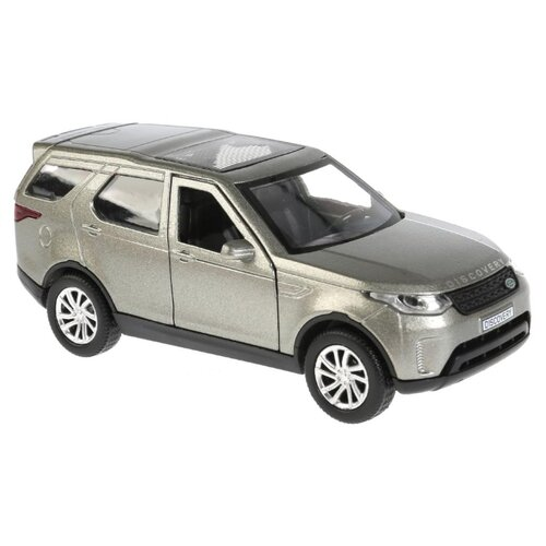 Купить Внедорожник ТЕХНОПАРК Land Rover Discovery (DISCOVERY-GY/WT) 12 см серый, Машинки и техника