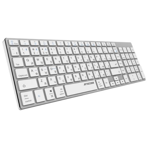 Ультратонкая bluetooth-клавиатура с аккумулятором SLIM LINE K1 BT металлик