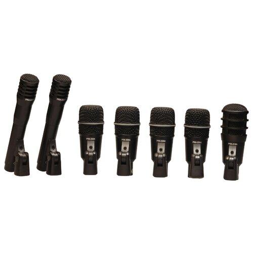 Комплект микрофонов Superlux DRKA5C2, черный