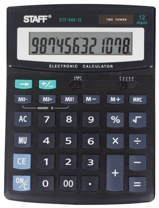Калькулятор бухгалтерский STAFF STF-888-12