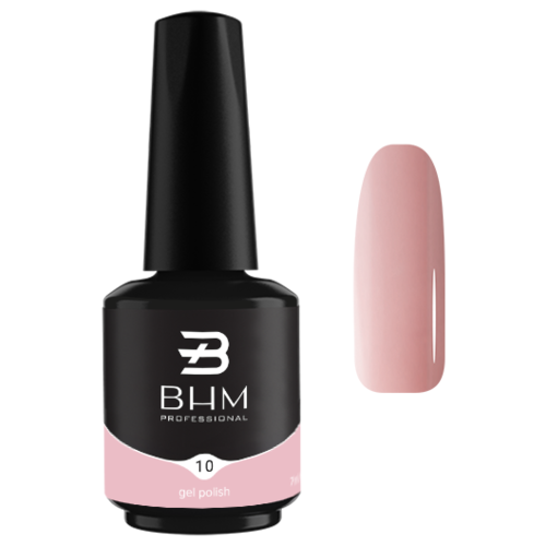 Купить Гель-лак для ногтей BHM Professional Gel Polish, 7 мл, №010 Creamy Fudge