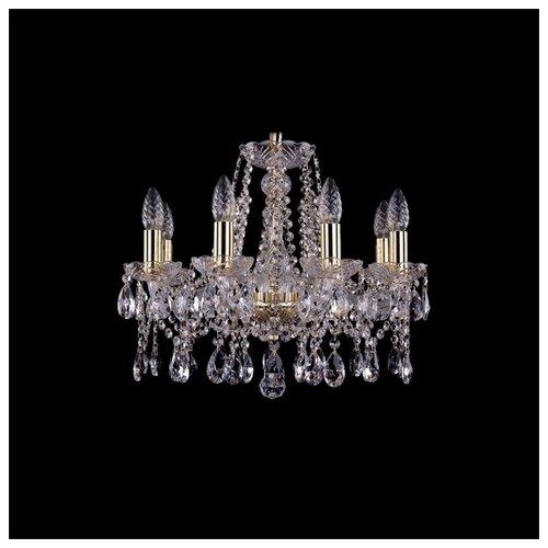 Люстра Bohemia Ivele Crystal 1413 1413/8/165/G, E14, 320 Вт люстра bohemia ivele crystal 1716 8 8 4 265b gb