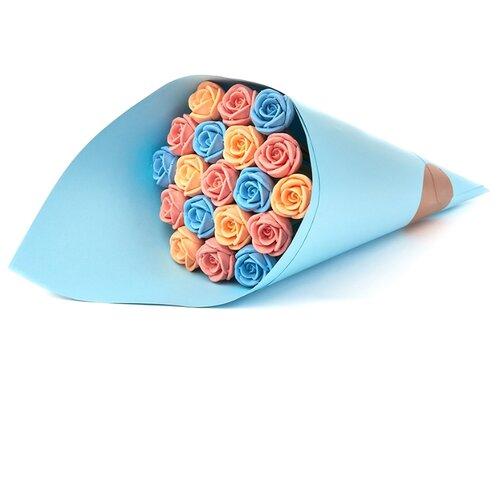 Набор конфет Choco Story Шоколадные розы B19-G-ROG белый шоколад 228 г набор конфет mieszko choco amore 300 г