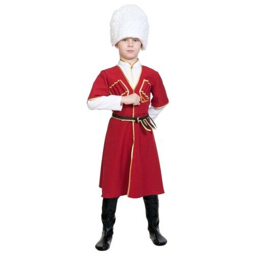 Купить Костюм КарнавалOFF Джигит (5129), красный, размер 134-140, Карнавальные костюмы