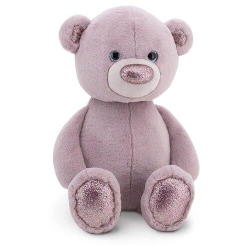 Купить Мягкая игрушка Orange Toys Пушистик Медвежонок сиреневый 22 см, Мягкие игрушки