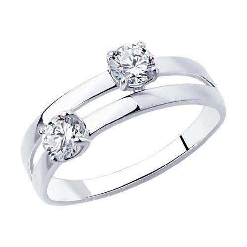 SOKOLOV Кольцо из серебра 94013086, размер 16.5 по цене 1 390