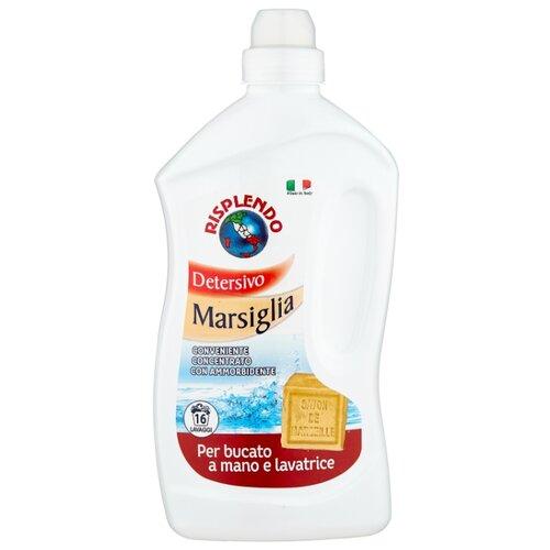 Жидкость для стирки Risplendo Марсельское мыло с кондиционером 1 л бутылка средство для стирки с кондиционером двойной эффект hanbok 1 5 л