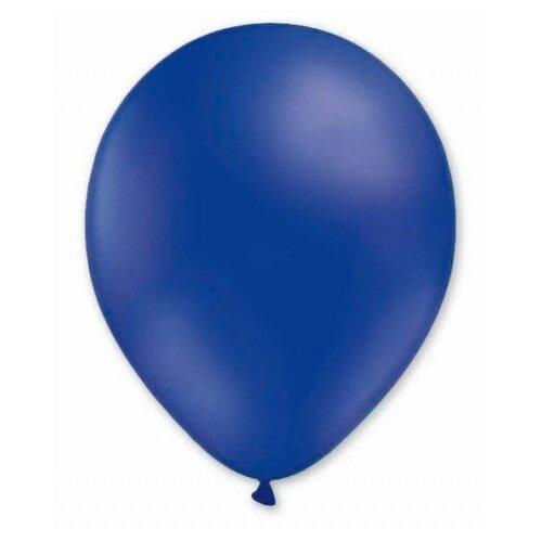 Набор воздушных шаров MILAND Пастель 21 см (100 шт.) темно-синий