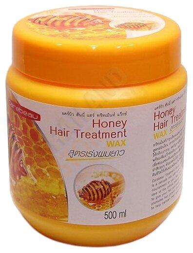 Carebeau Маска для волос с воском Мёд Honey Hair Treatment Wax