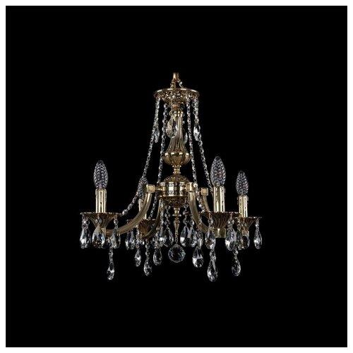 Фото - Люстра Bohemia Ivele Crystal 1771/4/150/A/GB, 160 Вт люстра bohemia ivele 1771 6 150 a g