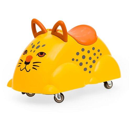 Каталка-толокар Viking Toys Cute Rider Leopard (81971) желтый каталка толокар orion toys мотоцикл 2 х колесный 501 зеленый