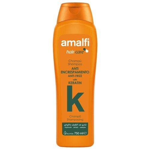 Amalfi шампунь Anti-frizz with Keratin для гладкости волос, 750 мл
