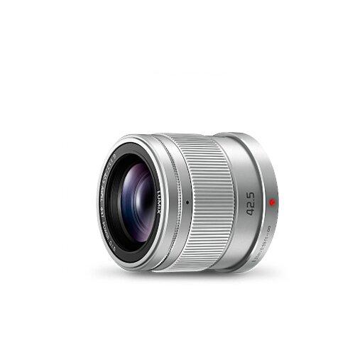 Фото - Объектив Panasonic 42.5mm f/1.7 G Aspherical Power O.I.S. (H-HS043E) серебристый объектив panasonic lumix h f008e g fisheye 8mm f3 5