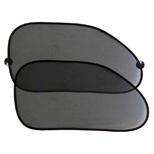 Каркасные шторки Nova Bright 46485 на передние боковые стекла черный