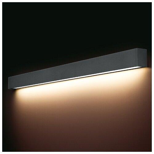 Настенный светильник Nowodvorski Straight Wall 9616, 18 Вт светильник nowodvorski straight wall graph n9617