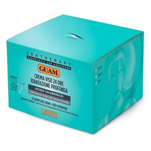 Купить Guam Seatherapy Crema Viso 24 Ore Idratante Profonda Крем для лица увлажняющий (1363), 50 мл