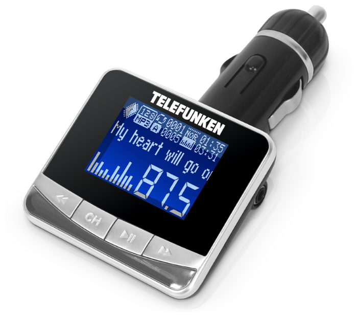 FM-трансмиттер TELEFUNKEN TF-FMT12