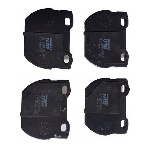 Фото - Дисковые тормозные колодки задние TRW GDB1666 для Land Rover Defender (4 шт.) дисковые тормозные колодки задние nibk pn1243 для toyota land cruiser prado 4 шт