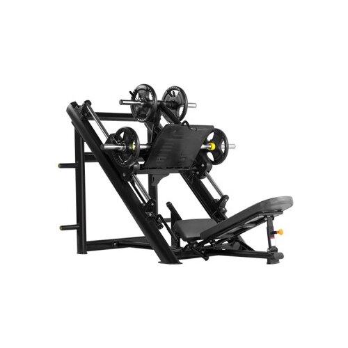 Тренажер со свободными весами Bronze Gym H-022 серый/черный
