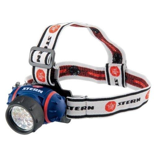 цена Налобный фонарь STERN Austria 90563 синий/красный/белый онлайн в 2017 году