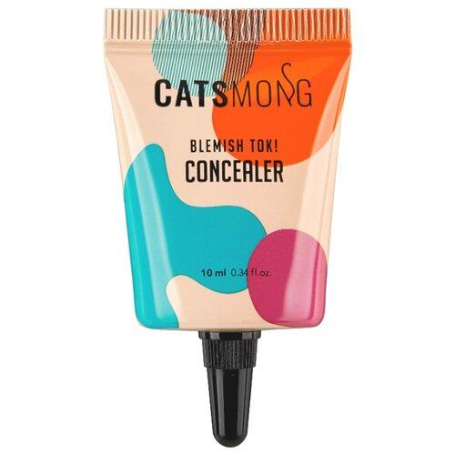 CatsMong Консилер Blemish TOK Concealer, оттенок 01 Soft Beige увлажняющий консилер blemish tok concealer 2 оттенка 10 мл