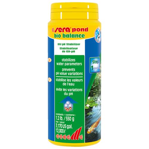 Порошок для водоема Sera Pond bio balance 0.55 кг