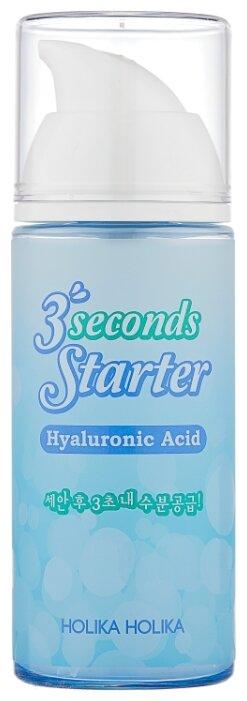 Купить Holika Holika 3 Seconds Starter Hyaluronic Acid Гиалуроновая сыворотка для лица, 150 мл по низкой цене с доставкой из Яндекс.Маркета (бывший Беру)