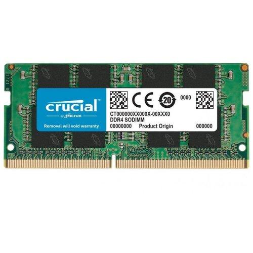 Купить Оперативная память Crucial DDR4 2400 (PC 19200) SODIMM 260 pin, 16 ГБ 1 шт. 1.2 В, CL 17, CT16G4SFD824A