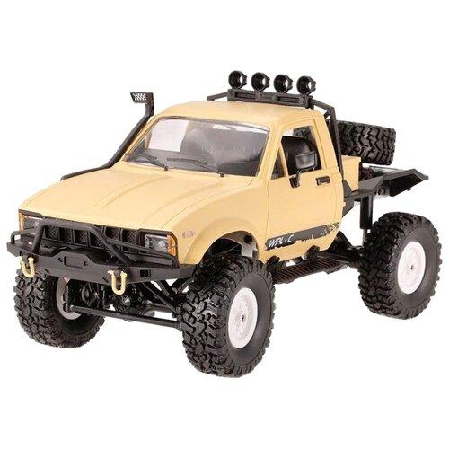Купить Внедорожник WPL C14 RTR 1:16 31 см желтый, Радиоуправляемые игрушки