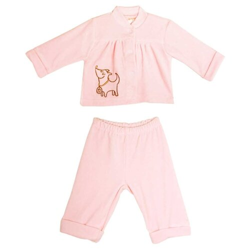 Фото - Комплект одежды KotMarKot размер 62, розовый комплект одежды kotmarkot размер 62 68 белый голубой