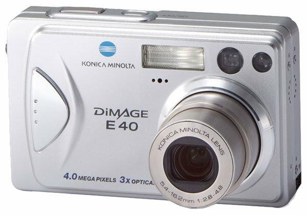 Фотоаппарат Konica Minolta DiMAGE E40