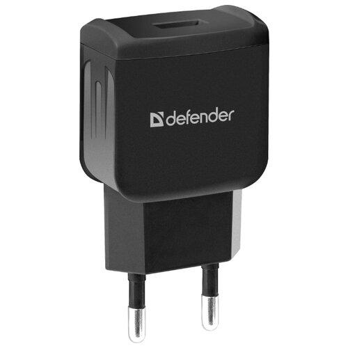Сетевая зарядка Defender EPA-02 черный