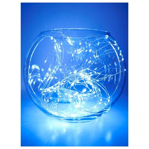 Гирлянда Feron Нить CL53 200 см, 200 ламп, белый/прозрачный провод