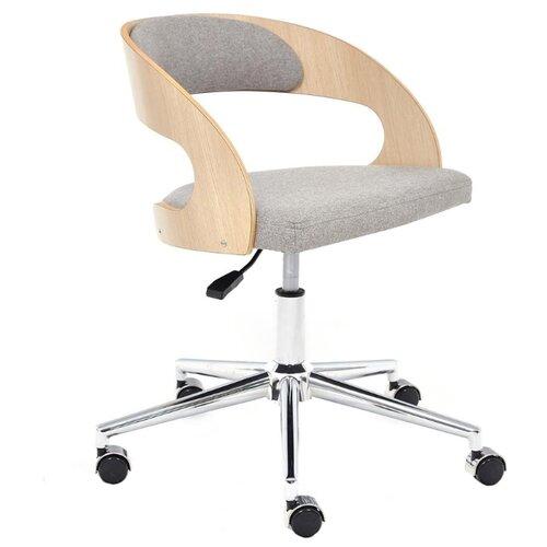 Компьютерное кресло TetChair Jazz офисное, обивка: текстиль, цвет: бежевый/серый 1811-43 кресло офисное tetchair leader 207 серый
