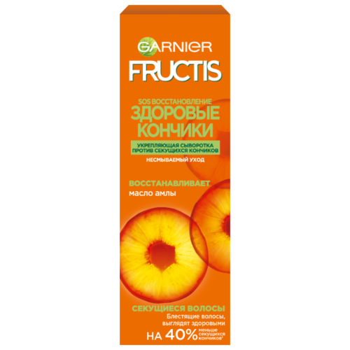 Купить GARNIER Сыворотка для волос Fructis SOS Восстановление укрепляющая с керафилом и маслом амлы, 50 мл