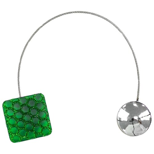 Магнитные клипсы Ajur NZ KV зеленый магнитные клипсы ajur b49 золотистый