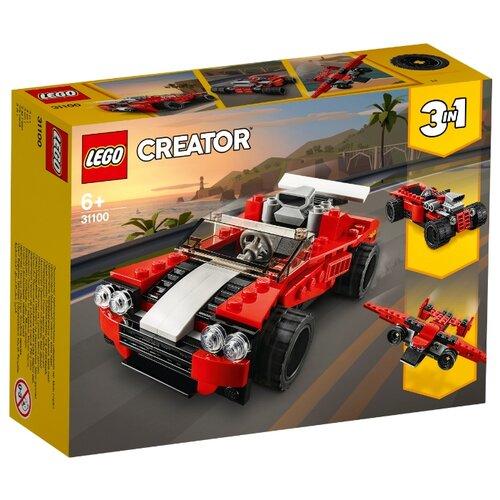 Фото - Конструктор LEGO Creator 31100 Спортивный автомобиль конструктор creator lego lego mp002xb0085w