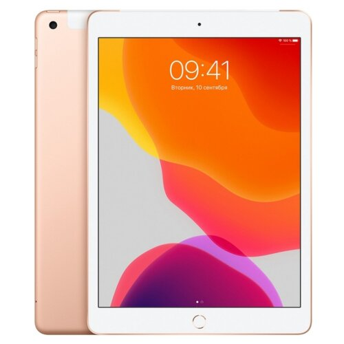 Планшет Apple iPad (2019) 128Gb Wi-Fi + Cellular gold
