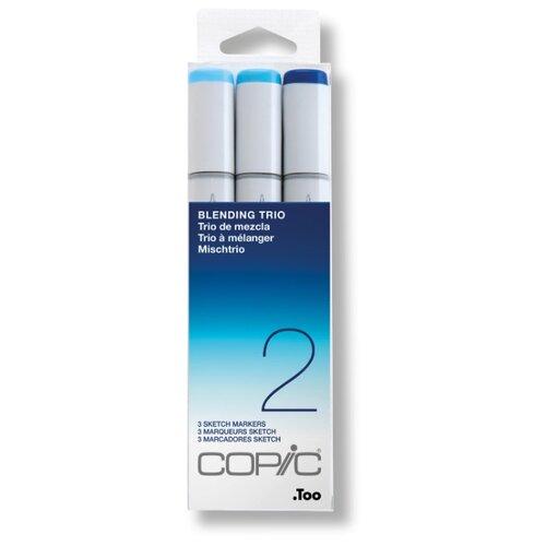 Купить COPIC набор маркеров Sketch Blending Trio 2 (H21075632), 3 шт., Фломастеры