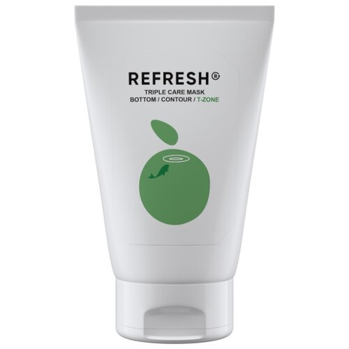 Фото - REFRESH Зеленая детокс маска для Т- зоны Triple Care Mask T-zone, 50 мл refresh маска для максимального объема волос long