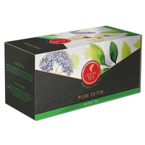 Чай зеленый Julius Meinl Pure detox в пирамидках, 18 шт. чай черный julius meinl assam south india blend в пирамидках 18 шт